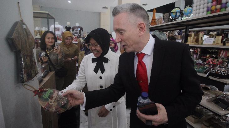 Wakil Walikota Liverpool untuk UMKM Surabaya
