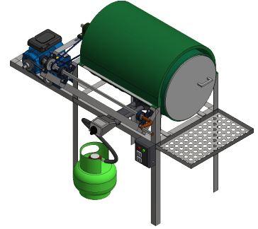 PKM : Mesin Penyangrai Kerupuk Semi-Otomatis – Dorong Inovasi Revolusi Industri 4.0 – UKM