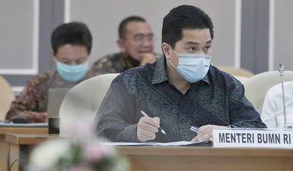 UMKM : Erick Thohir Ingatkan BUMN Beri 'Lahan Rezeki'